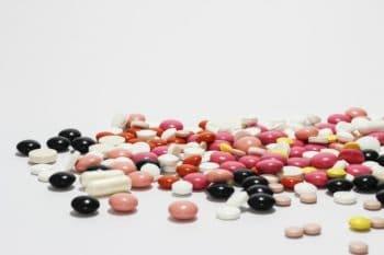 pile of prescription drugs